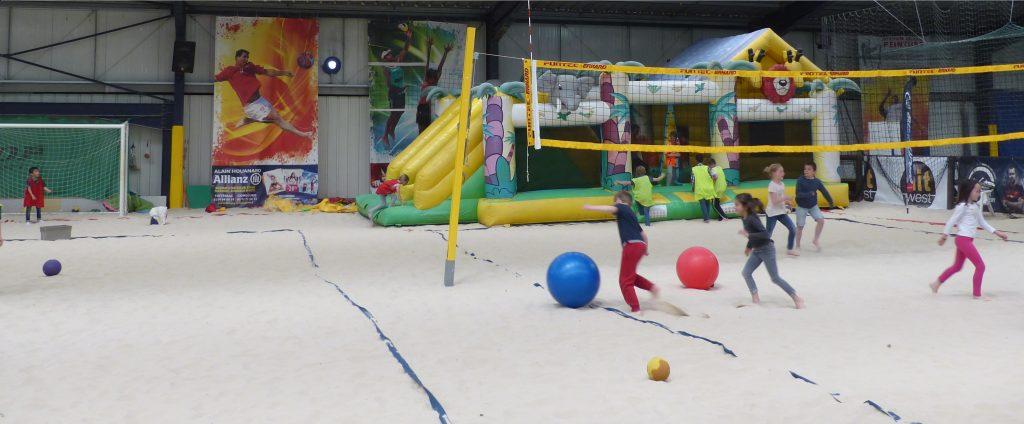 Anniversaire sable enfant Capmultisports - Rennes - La Mézière