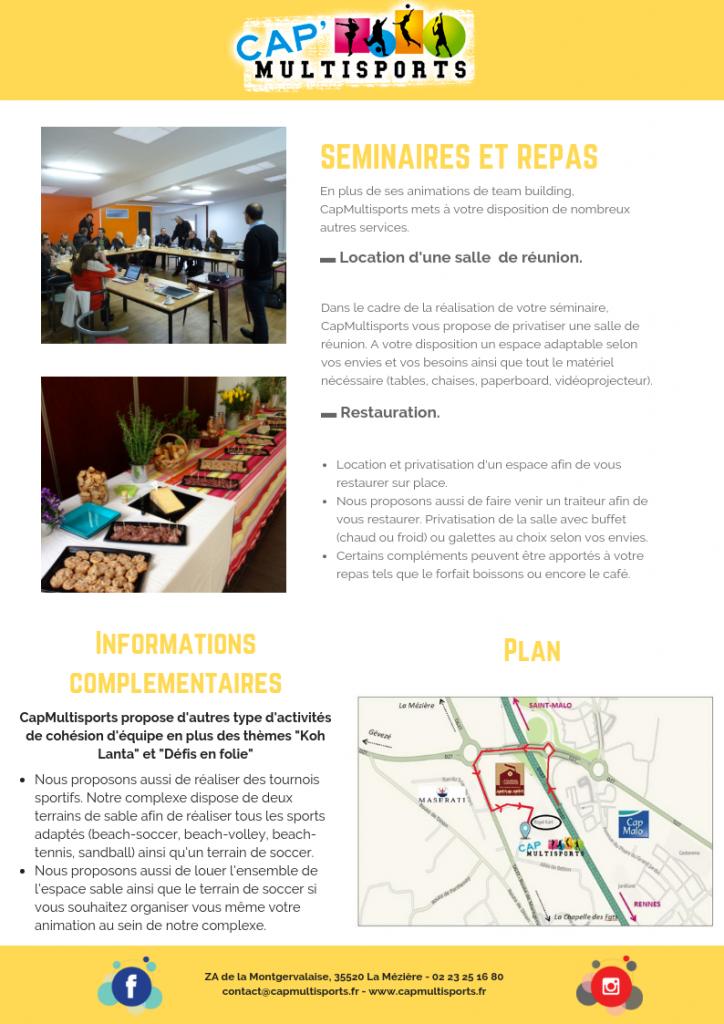 Cohésion-Team Building Rennes CapMalo